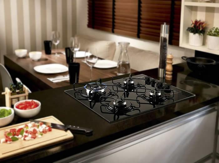 Has cooktop 30 elite kenmore gas Corporation