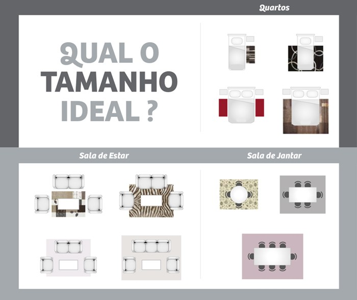Tamanho Tapete Sala De Tv ~ magazine luiza 5 use tapetes não tem erro tapetes além de