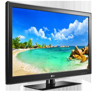 "TV LED 32"" LG HDTV 720p 32LS3400 - Conversor Digital 2"