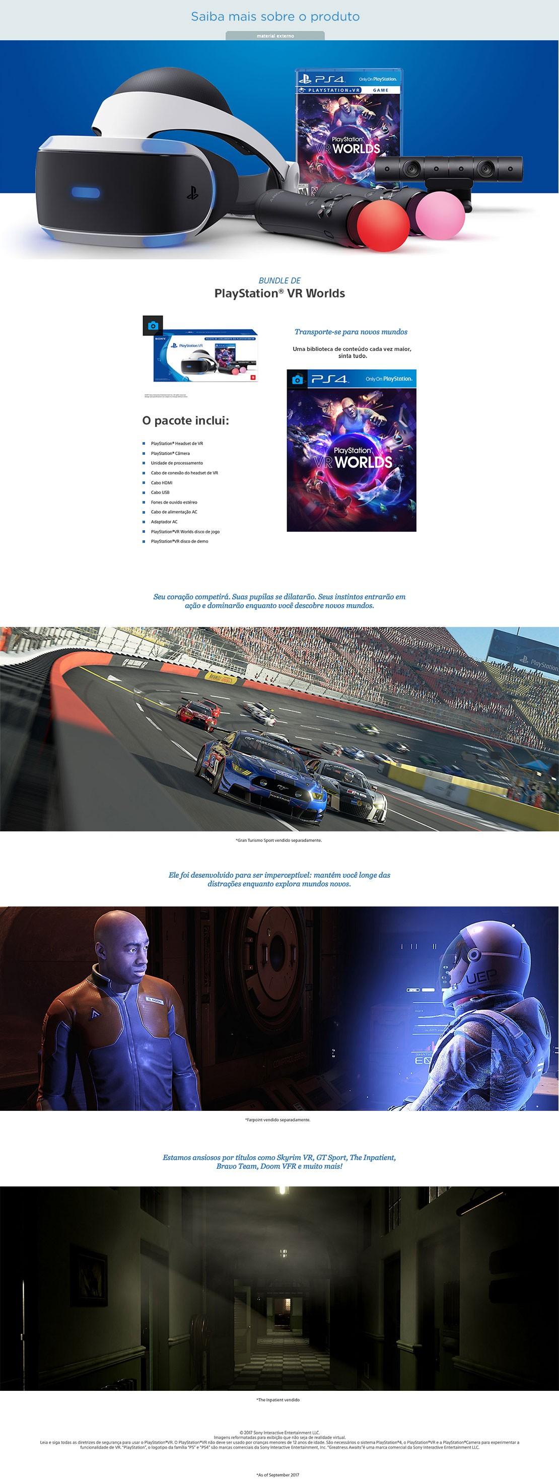 Os donos de PS4 Pro também podem desfrutar de reprodução de vídeo em 4K com  o seu dispositivo PS VR, proporcionando uma reprodução incrivelmente  envolvente ... 805fe39b03