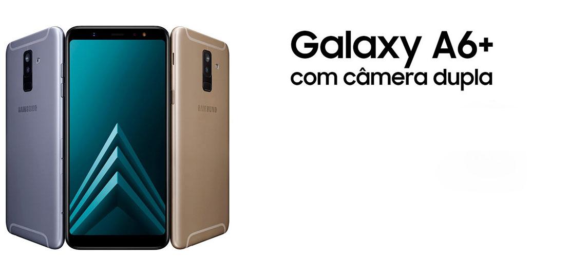 06fcd4aec6 Gente, eu tô muito animada com esse lançamento da Samsung! Vem comigo  conhecer um pouco mais desse aparelho da família Galaxy, o A6+.