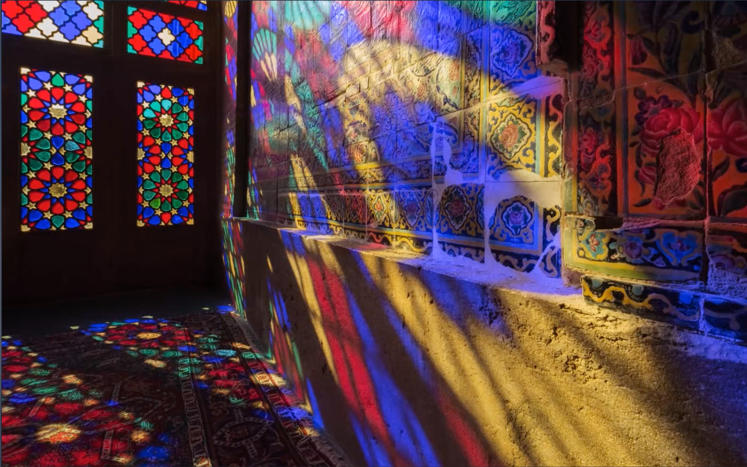 Contemple a exuberância de um espetáculo de cores